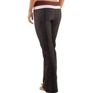 Lululemon Groove Pant *Denim (Regular) size 4